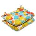 <strong>Pillow Perfect</strong> Paint Splash Seat Cushion (Set of 2)