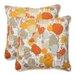 Pillow Perfect Paint Splash Throw Pillow (Set of 2)