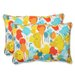 <strong>Pillow Perfect</strong> Paint Splash Throw Pillow (Set of 2)