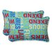 <strong>Pillow Perfect</strong> Grillin Throw Pillow (Set of 2)