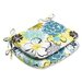 <strong>Pillow Perfect</strong> Floral Fantasy Seat Cushion (Set of 2)