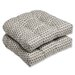 <strong>Pillow Perfect</strong> Seeing Spots Wicker Seat Cushion (Set of 2)