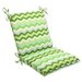 <strong>Pillow Perfect</strong> Panama Wave Chair Cushion