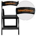 <strong>Flash Furniture</strong> Hercules Series Personalized Wood Folding Chair with Vinyl Padded Seat