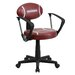 <strong>Football Task Chair with Arms</strong> by Flash Furniture