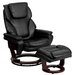 <strong>Contemporary Leather Recliner and Ottoman</strong> by Flash Furniture