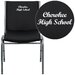 <strong>Flash Furniture</strong> Hercules Series Personalized Heavy Duty Vinyl Stackable Chair