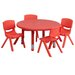 "Flash Furniture 33"" Round Classroom Table"
