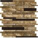<strong>Archaeology Random Sized ColorBody Porcelain Strip Mosaic in Chaco ...</strong> by Marazzi