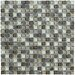 Marazzi Crystal Stone II Glass Square Mosaic in Pewter