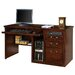 <strong>Martin Home Furnishings</strong> Huntington Club Single Pedestal Computer Desk