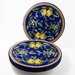 """Le Souk Ceramique Citronique Design 11"""" Dinner Plates"""