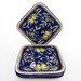 """<strong>Citronique Design 9"""" Square Plates (Set of 4)</strong> by Le Souk Ceramique"""