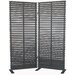 "<strong>72"" x 60"" Dasha 2 Panel Room Divider</strong> by Moe's Home Collection"