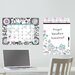 <strong>WallPops!</strong> Dry Erase Floral Medley Message and Calendar Chalkboard Wall Decal