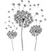Dandelion Small Wall Art Kit