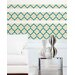 Jonathan Adler Elephant Paisley Stripe Wall Decal