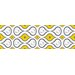Jonathan Adler Aztec Diamond Stripe Wall Decal