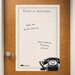 <strong>Dry Erase Vintage Leave Message Giant Wall Decal</strong> by WallPops!