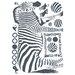 Brewster Home Fashions Euro Zebra Wall Decal