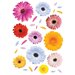 Euro Gerberas Wall Decals