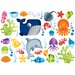 <strong>Brewster Home Fashions</strong> Fun4Walls Stikarounds Under the Sea Wall Decal