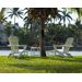 <strong>POLYWOOD®</strong> South Beach Ultimate 3 Piece Adirondack Seating Group