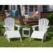 <strong>POLYWOOD®</strong> South Beach 5 Piece Adirondack Seating Group