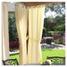<strong>Commonwealth Home Fashions</strong> Outdoor Décor Gazebo Outdoor Solid Grommet Top Curtain Single Panel