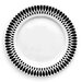 "<strong>notNeutral</strong> Ribbon 10.5"" Dinner Plate Set (Set of 4)"