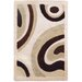 Structure Ivory/Brown Rug
