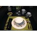 Taika Black Dinnerware Set