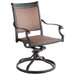 <strong>Pilot Swivel Dining Arm Chair (Set of 2)</strong> by Alfresco Home