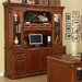 Keegan Credenza Desk with Hutch
