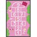 Play Carpet Groovy Garden Hopscotch Kids Rug