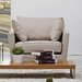 <strong>Lexington Arm Chair in Beige</strong> by Gold Sparrow