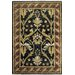 American Home Classic Arts &amp; Crafts Black/Burgundy Rug
