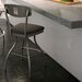 "<strong>Urban Style 30"" Domino Swivel Bar Stool</strong> by Amisco"
