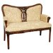 Oriental Furniture Cotton Settee
