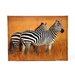 "Plains Zebras Canvas Wall Art - 23.5"" x 31.5"""