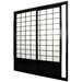 "83"" Single Sided Sliding Door Shoji Room Divider"