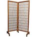Meditation Folding Room Divider in Honey