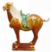Oriental Furniture Medium Tang Horse Figurine