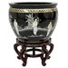 <strong>Lacquer Ladies Vase</strong> by Oriental Furniture
