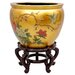 <strong>Oriental Furniture</strong> Birds and Flowers Vase