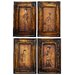 Celestial Music Paintings Frame Art (Set of 4)