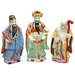 Oriental Furniture 3 Piece Tao Lucky Gods Figurine Set