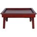 Oriental Furniture Rosewood Tea Tray