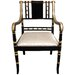 Regency Fabric Arm Chair