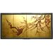 "<strong>Oriental Furniture</strong> 24"" x 48"" Tree on Leaf 4 Panel Room Divider"